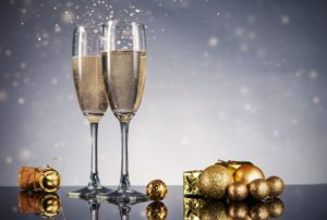 33491634 - champagne glasses. celebration theme with champagne still life
